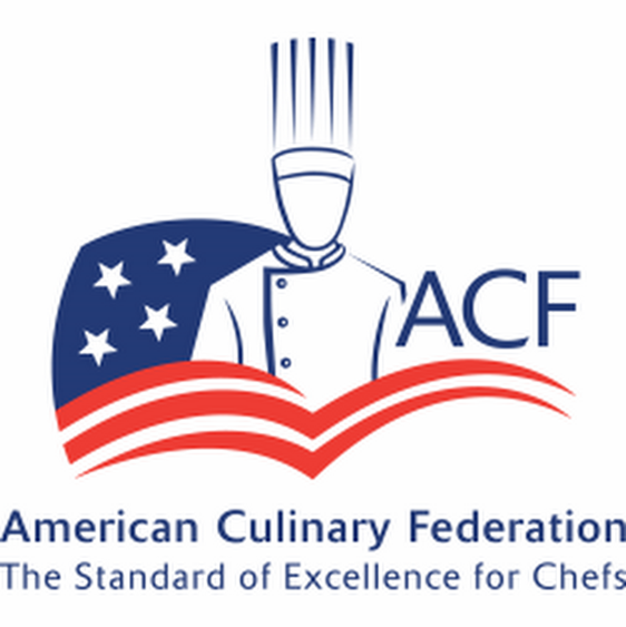 American Culinary Federation (ACF) Accreditation logo, links to ACF's website