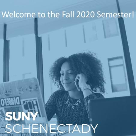 Welcome to Fall 2020