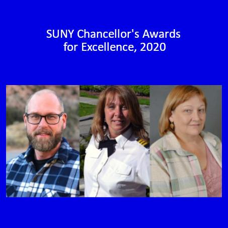 Recipients of the SUNY Chancellor's Award, 2020