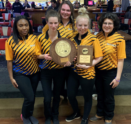 Women's Bowling Team - Regional Champs 2020